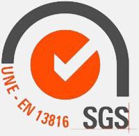 SGS UNE EN 13816