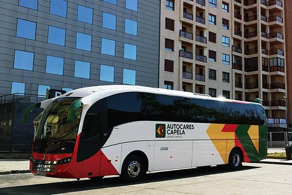 Autocares Capela - Empresa