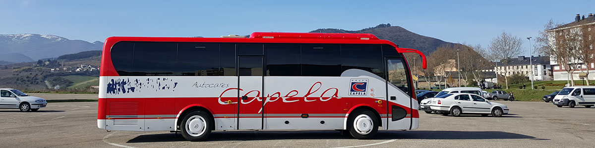 Autocares Capela adquiere un nuevo midibus King Long