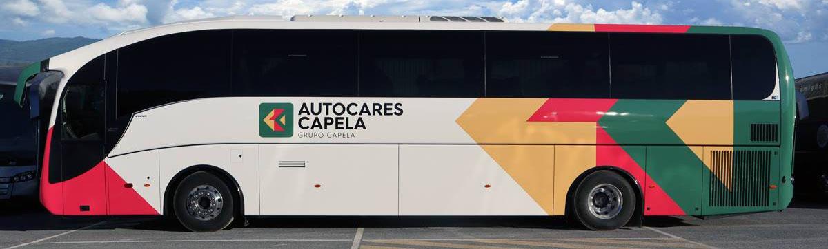 Autocares Capela adquiere el SC7 de Sunsundegui